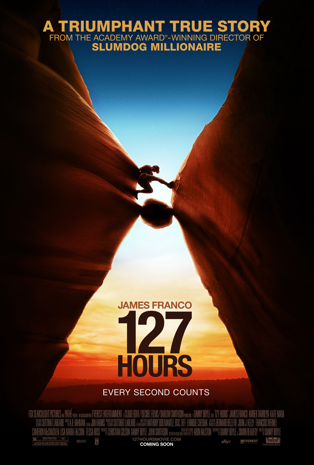 127 Hours: Extra Large Movie Poster Image - Internet Movie Poster Awards Gallery