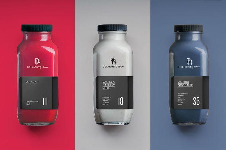 Sophisticated Raw Juice Branding