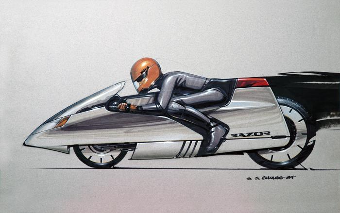 Analog 2D Sketches by Sid Chiang at Coroflot.com