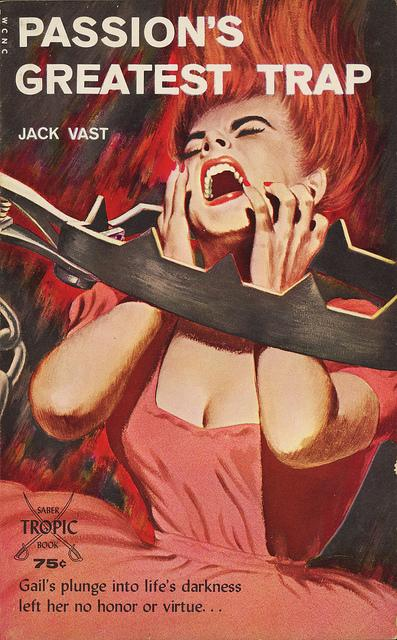Saber-Tropic Books 933 - Jack Vast - Passion's Greatest Trap | Flickr - Photo Sharing!