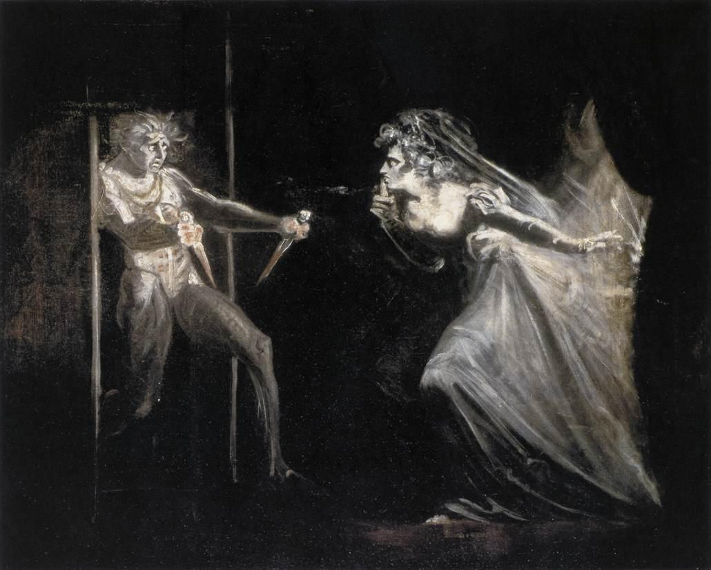 Lady Macbeth with the Daggers by John Henry Fuseli