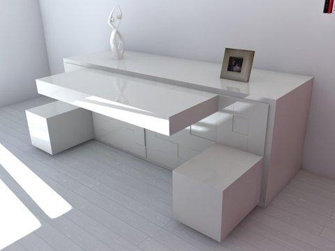 "Space-Saving Sideboard ""T@tris"""
