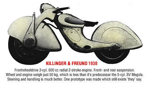 Killinger and Freund Motorcycle