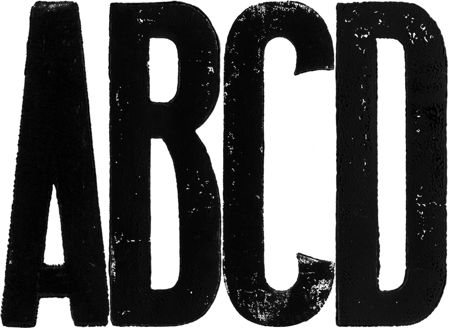 MARKS | PROJETS | Typographies