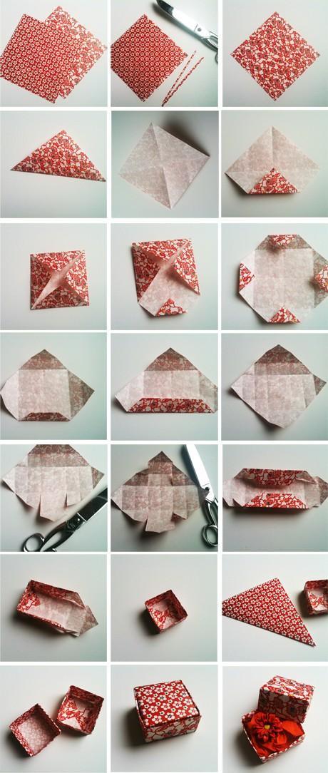 DIY / Tambouille» Tuttorial Petite boite / Tutorial paper box