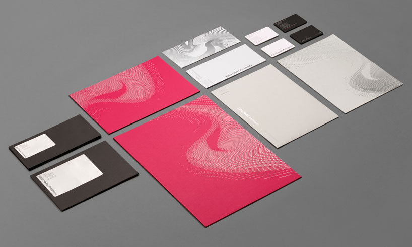 greenspace: zaha hadid architects brand identity