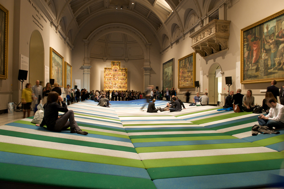 Creative Review - Textile Field at the V&A