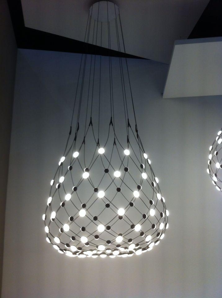 luceplan mesh light by francisco gomez paz at euroluce. Black Bedroom Furniture Sets. Home Design Ideas