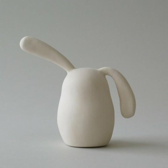 Simplicity / Bunny by ArtMind #Sculpture #Bunny #ArtMind