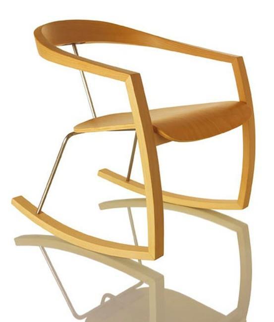 Rocking Chairs / Ro Ro Rocking Chair by Tomoko Azumi