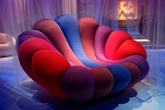 Chair / Colorfull Chair Anemone by Giancarlo Zema - freshomezine