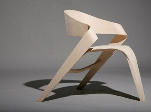 Chair / Modern Creative Craft Oak Wood Copenhagen Chair Furniture Design - this archite
