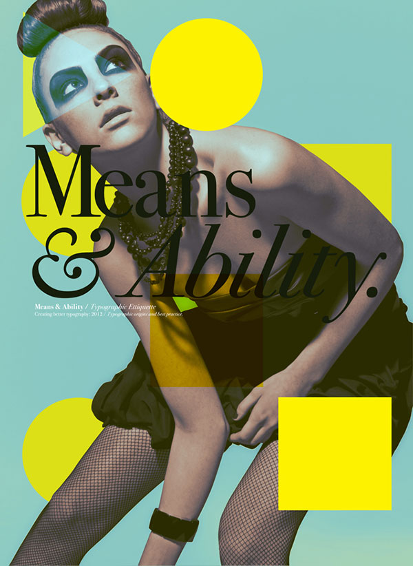 60 Stunning Pieces Of Editorial Design | Web & Graphic Design | Bashooka