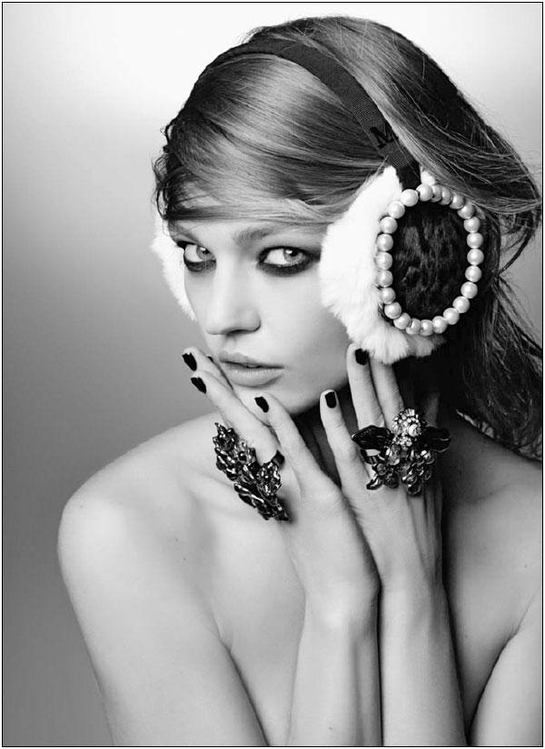 Chanel's Maison Michel Hats Autumn/Winter 2011 | Cuded