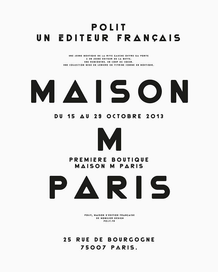 Maison M Paris on Inspirationde