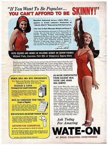 Vintage Weight Gain Ads | Retronaut
