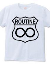 [T-shirt] ROUTINE : WALRUS [ROUTE] | Hoimi -design T-shirts Market-
