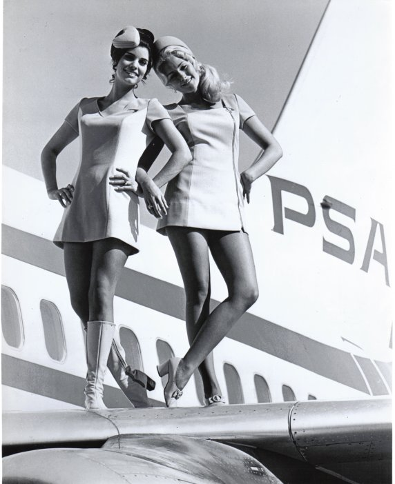 Dark Roasted Blend: The Glamour of Flight, Part 1 - Sexy Flight Attendants