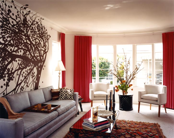 Outstanding Living Room Curtains Ideas with Red 725 x 574 · 88 kB · jpeg