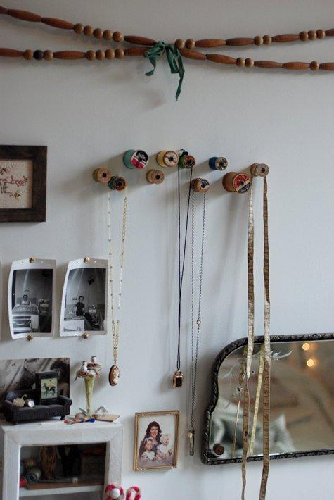 diy project: haylie's spool hooks | Design*Sponge