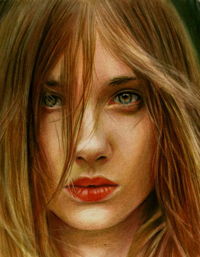 Drawing with coloured pencils by Brian Scott | InspireFirst
