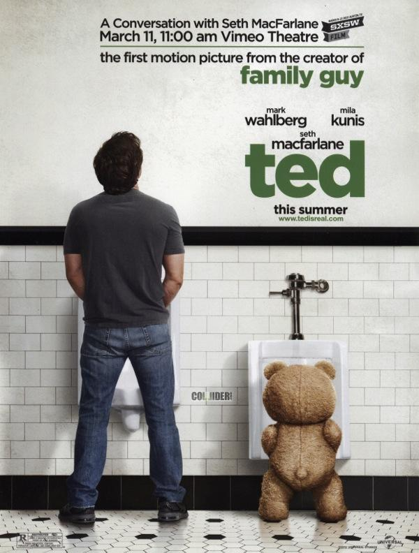 Seth MacFarlane's TED Movie Poster : trfling