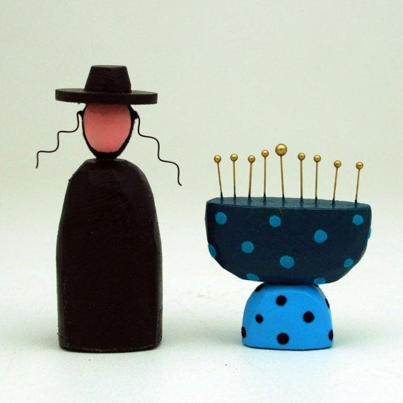 Hanukkah Set by bunnywithatoolbelt on Etsy