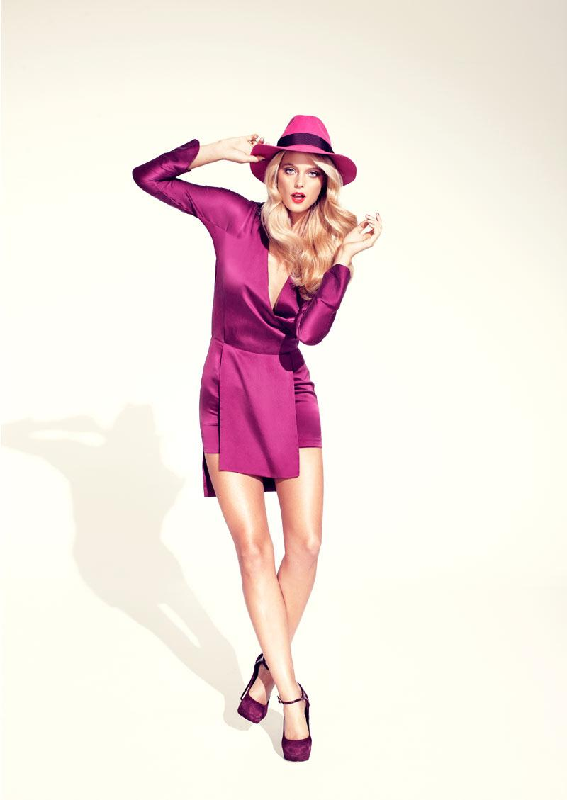 Kate Bock by Steven Chee for Cosmopolitan Australia April 2012 | ZAC FASHION