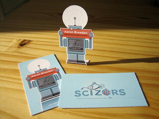 Scizors Business Card | inspirationfeed.com