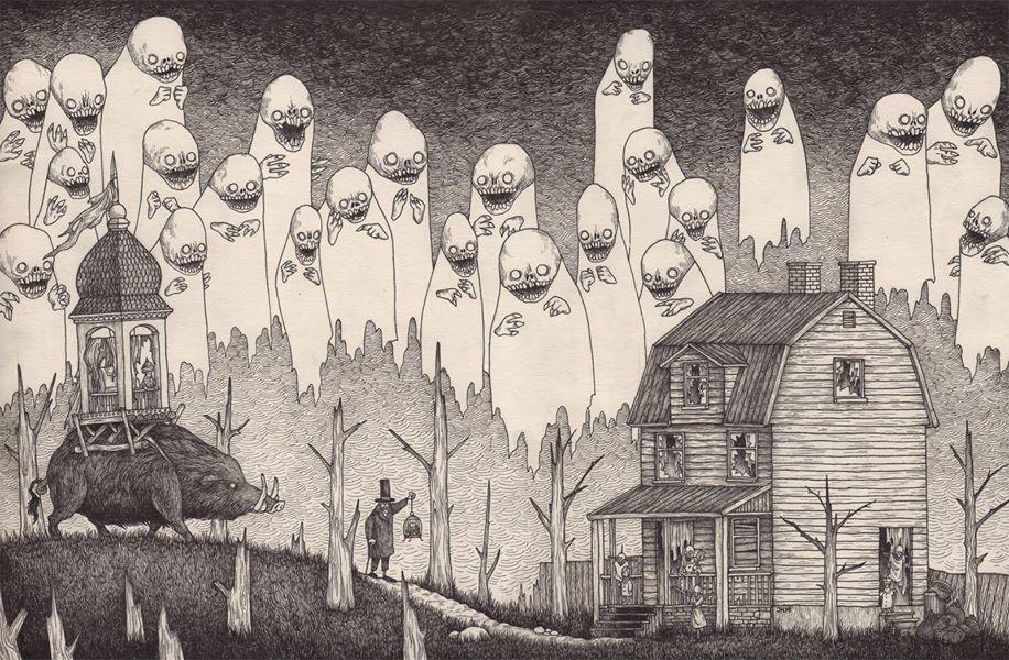 John Kenn Mortensen - Dark and fantastic arts