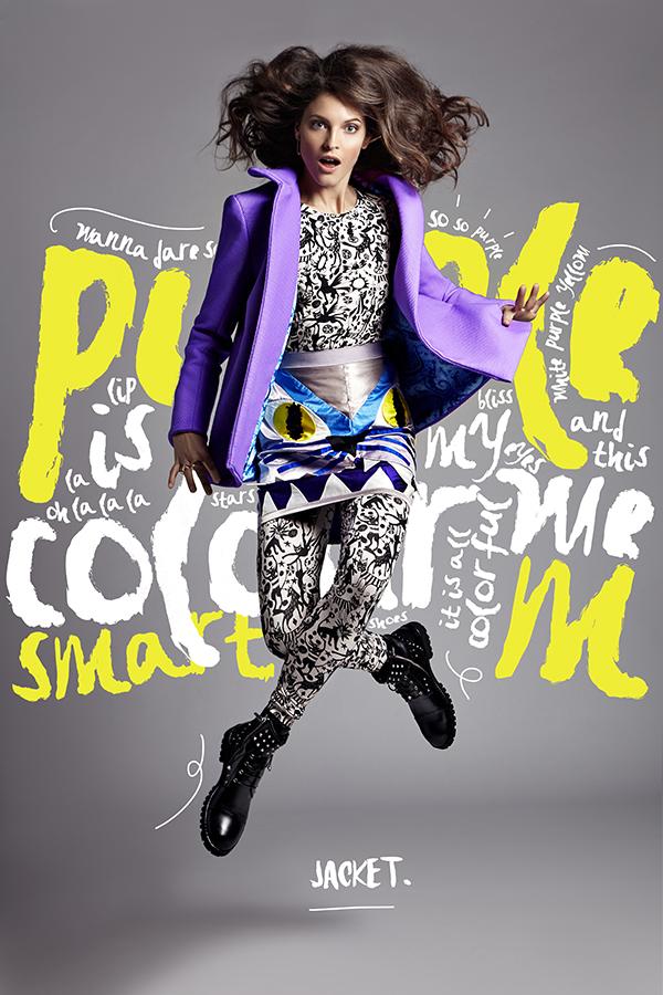 Lenka Srsnova Fashion Editorial on Inspirationde