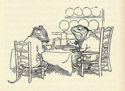 automatism: The Wind in the Willows