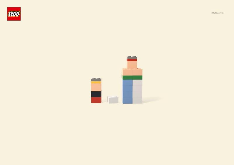 Looks like good Lego Campagne by Jung vom Matt