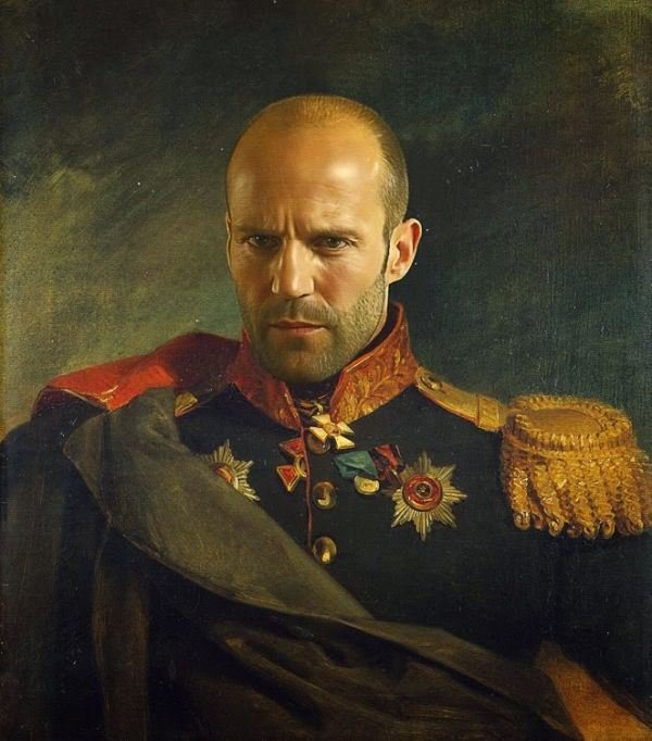 Famous people painted as Russian generals (19 Photos) : theCHIVE