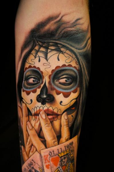 tattoo-arm-mexican-skull.jpg (JPEG-Grafik, 398×600 Pixel)