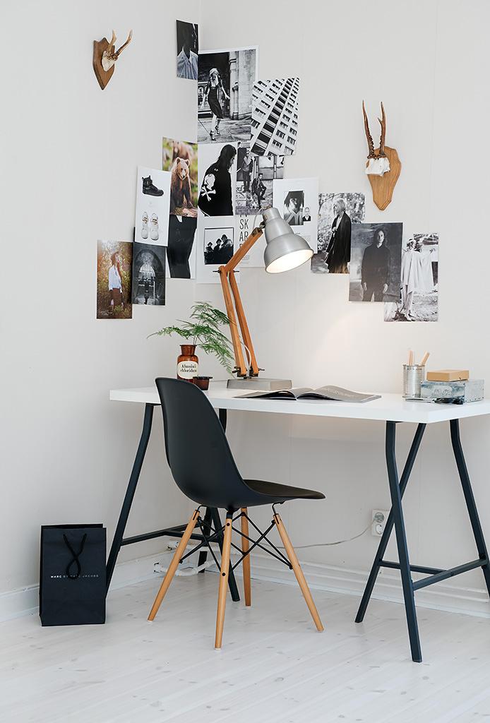Black & Tan Desk on Inspirationde