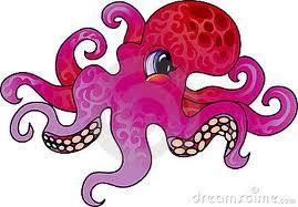 octopus cartoon - Google Search