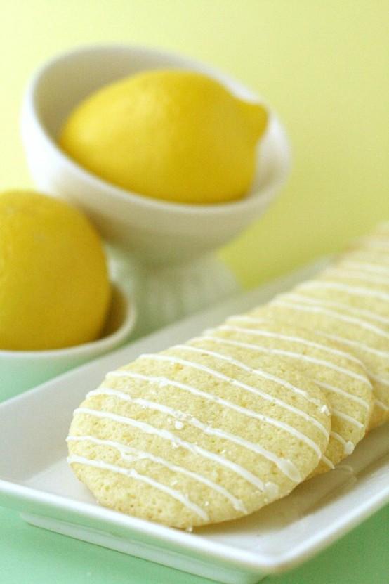 Decadent Desserts / Lemon Crisps. I am in love with lemon. The first bite of anything lemon is always so crisp, so awakening and so refreshing:)