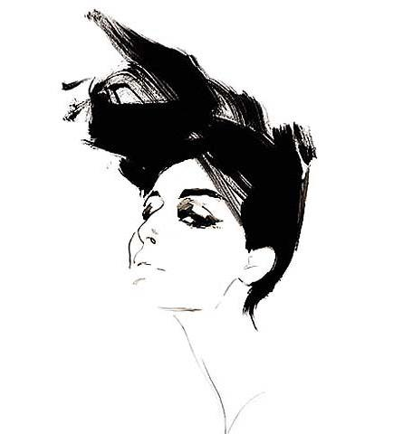 Fashion Illustration on Mimi K's Blog - Buzznet