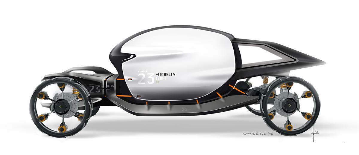 Off-roader (Michelin Design Challenge) on