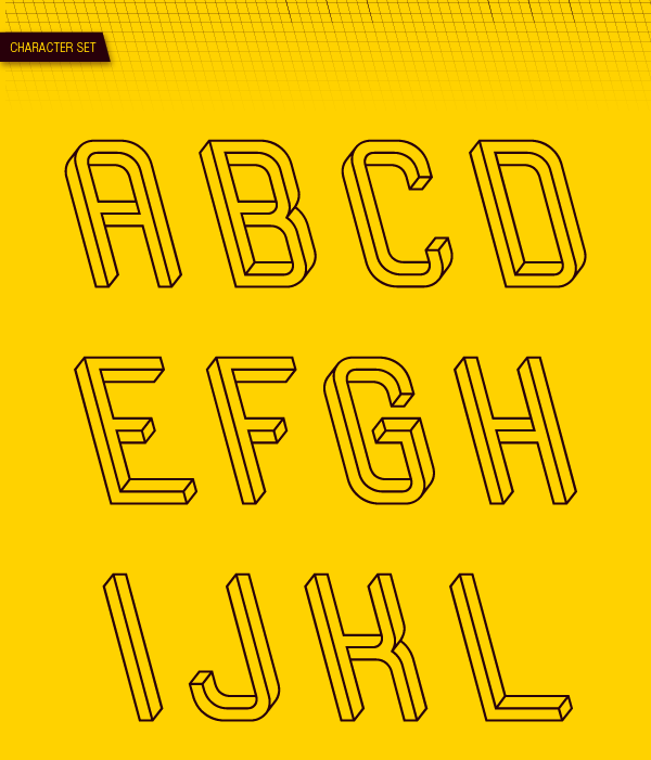 Frustro: The Impossible Typeface   Jeannie Huang