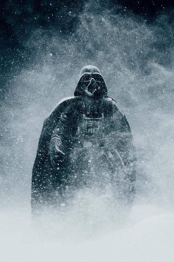 'Darth Vader Staying Alive'. © Vesa Lehtimäki. in Nerdspiration