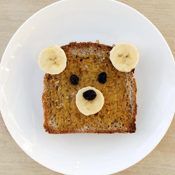 Teddy bear toast | Mini-eco | 54604 | Wookmark