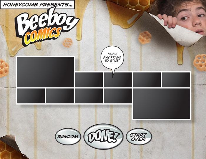 Honeycomb Beeboy Comics | Michael De Pippo