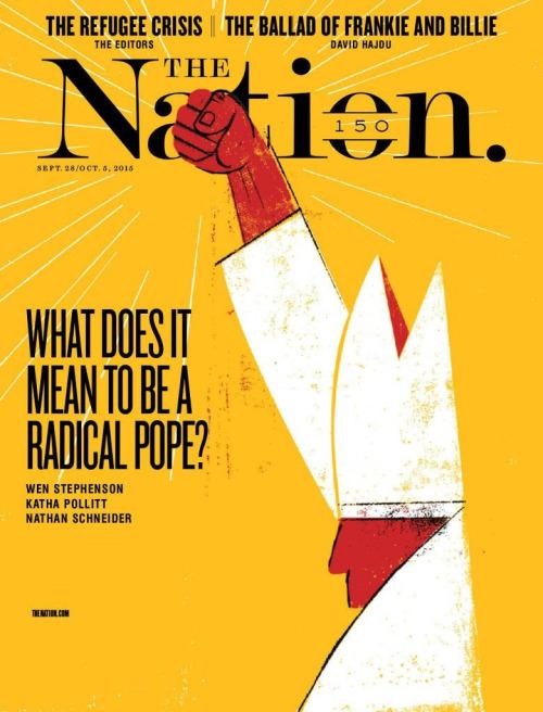 Magazine Wall - The Nation (New York, NY, USA)