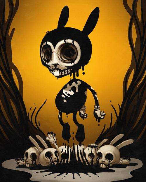 Sir Mitchel Black rabbit – bunnylicious