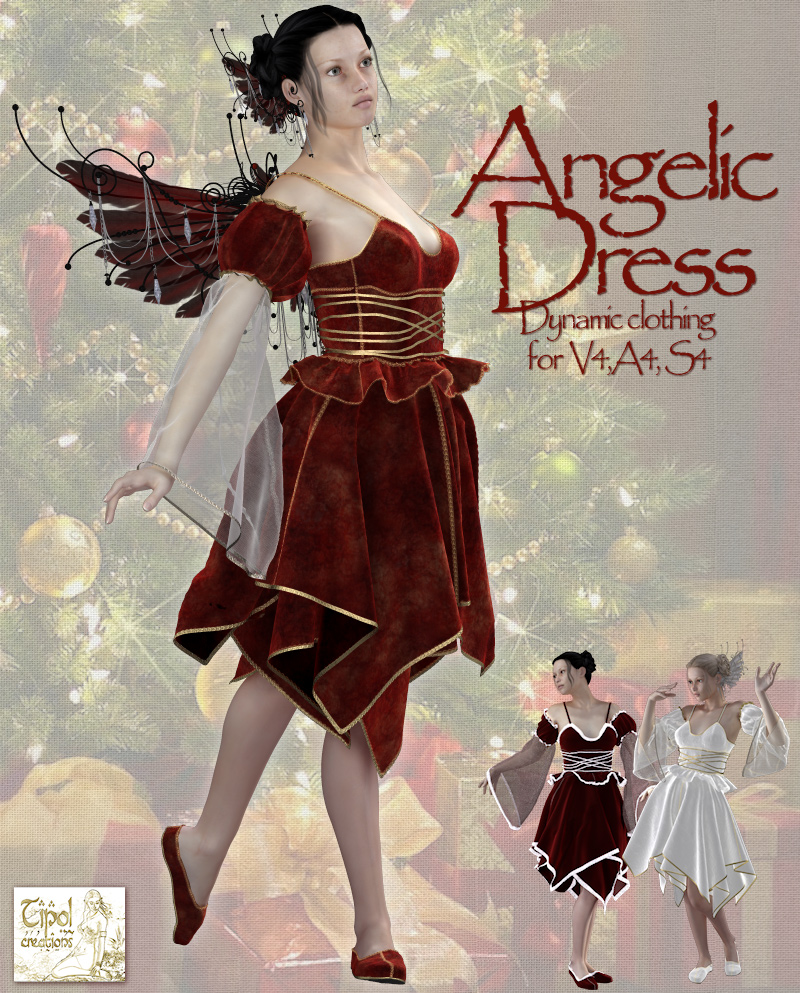 Angelic Dress 3D Figure Essentials Tipol
