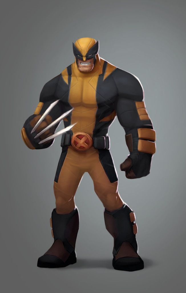 ArtStation - Wolverine Remix, Corey Smith | cartoon character | Pinterest