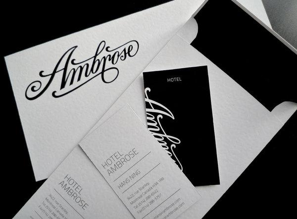 HotelAmbrose identity / 2011