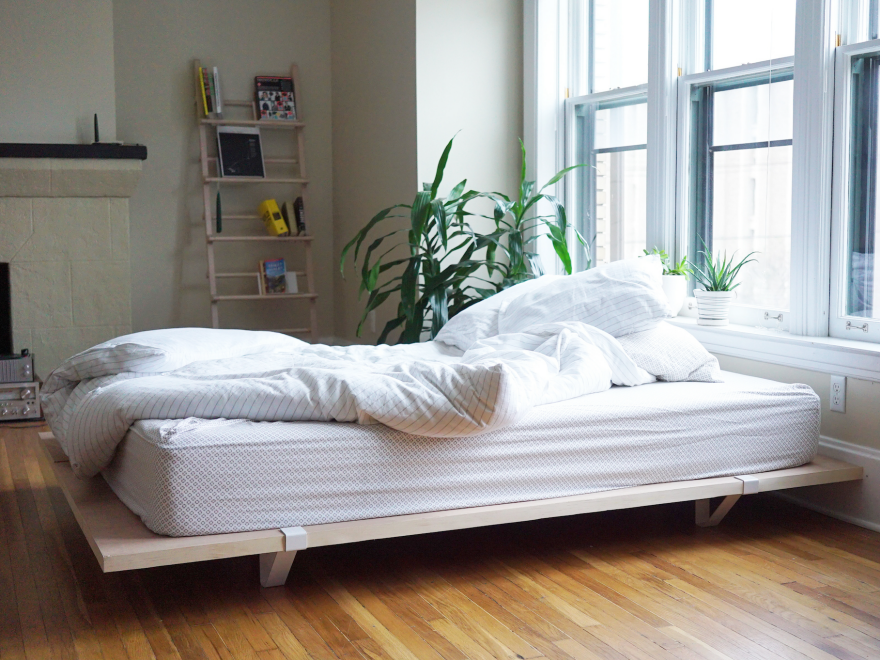 The Floyd Bed: A Bed Frame Built for City Living - Core77